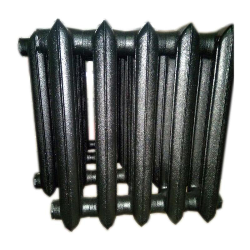 Чугун в черный монохромный цвет