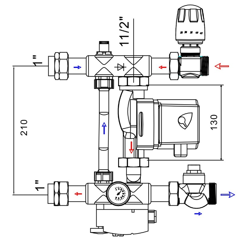 Схема jh-1038