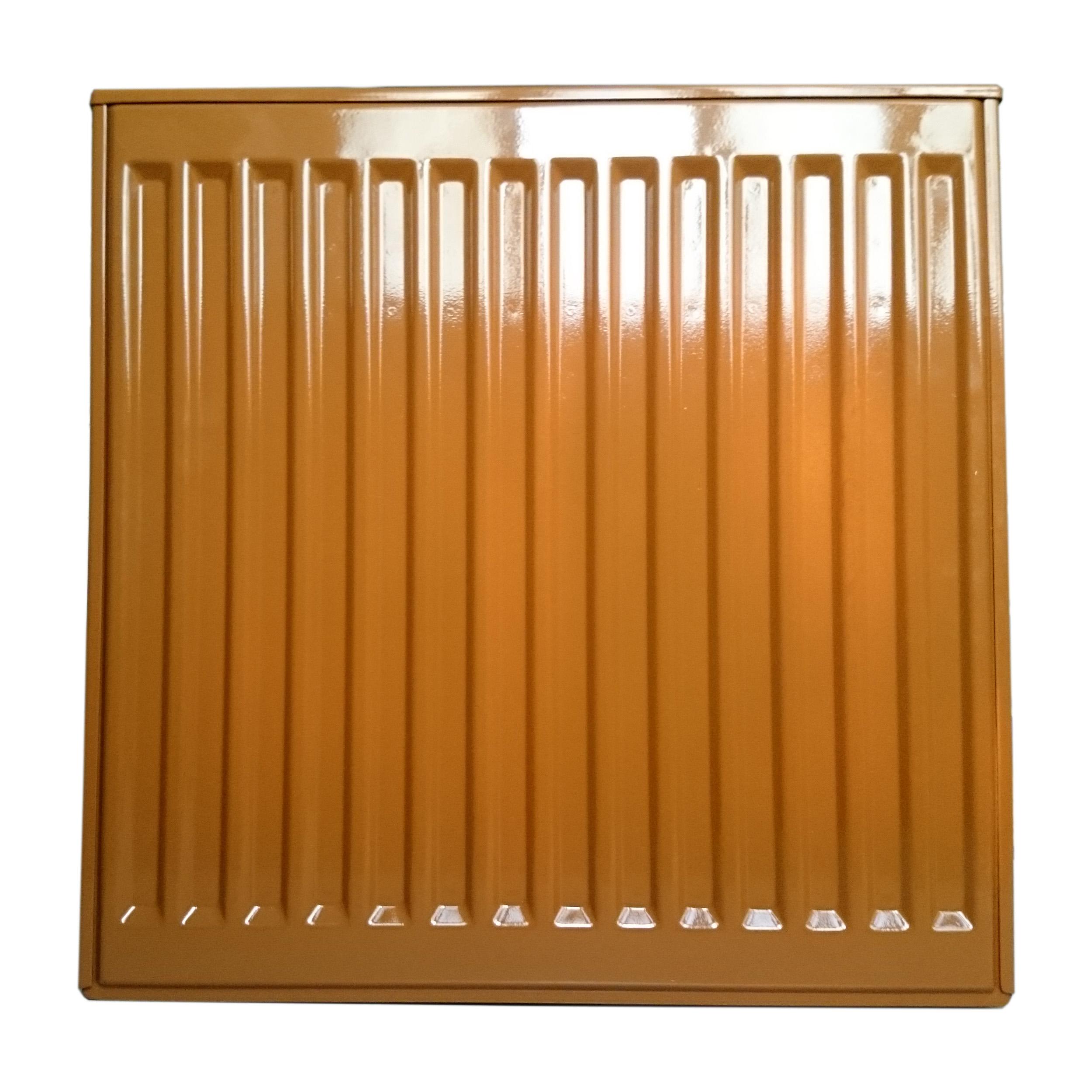 Стальной панельный радиатор в монохромный цвет